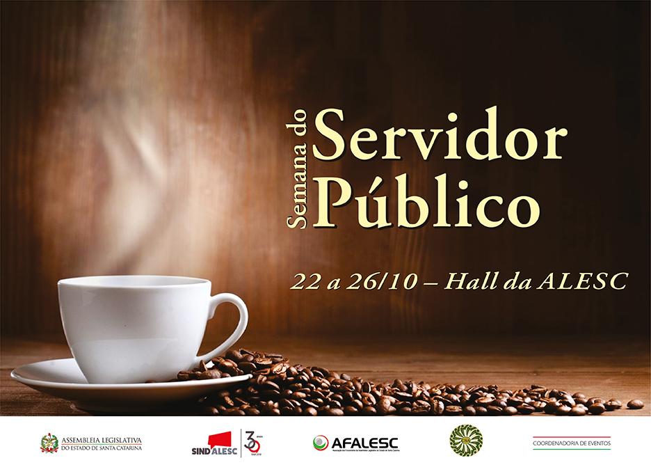 SINDALESC e AFALESC incentivam prevenção e qualidade de vida na programação da Semana do Servidor 2018