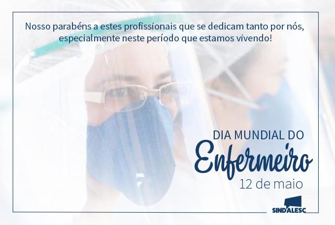 Dia mundial do Enfermeiro – 12 de maio