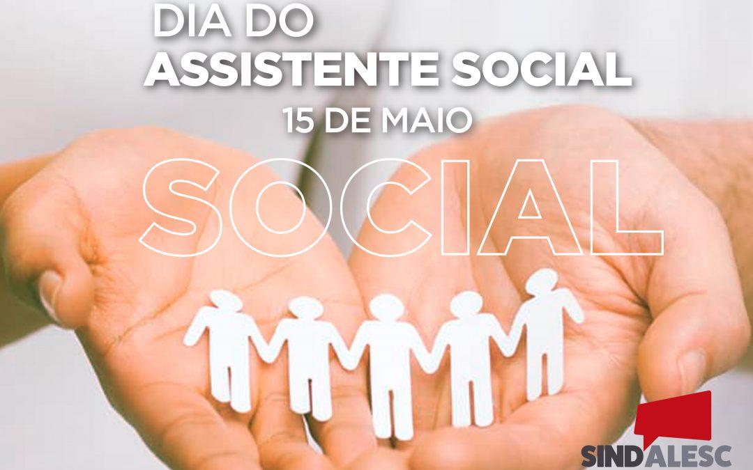 Dia do(a) Assistente social – 15 de maio
