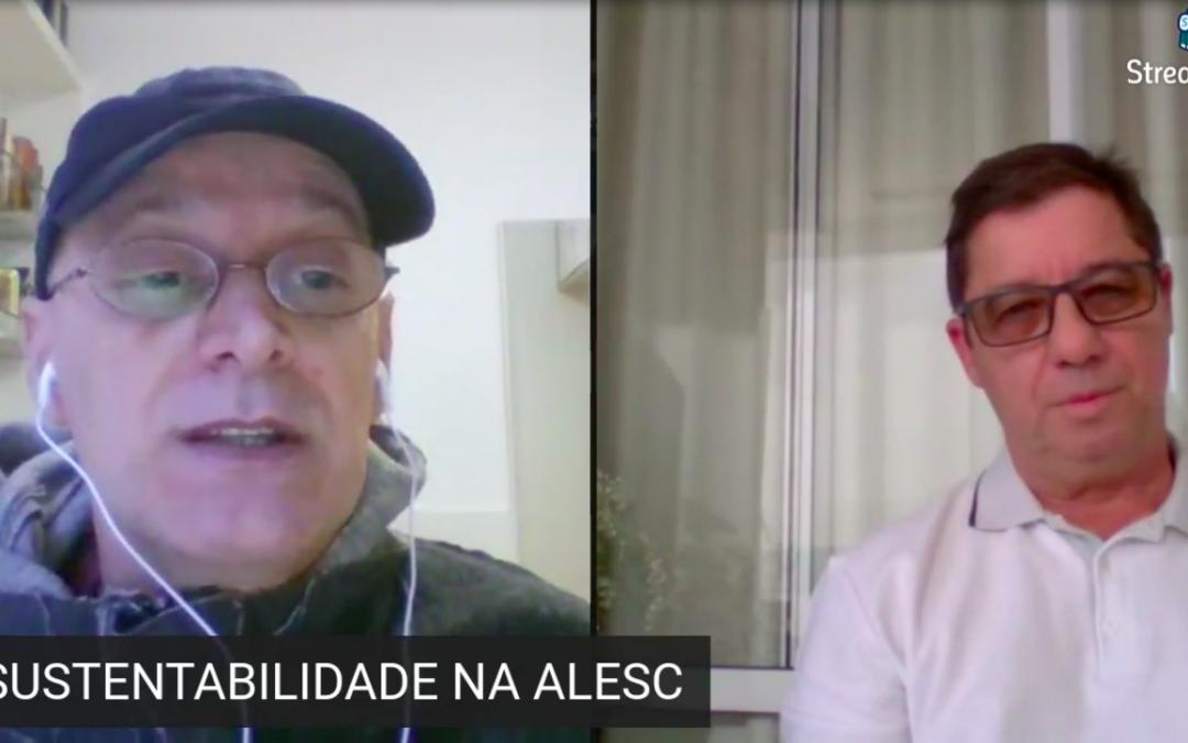 """SINDALESC estreia """"live com o servidor"""""""