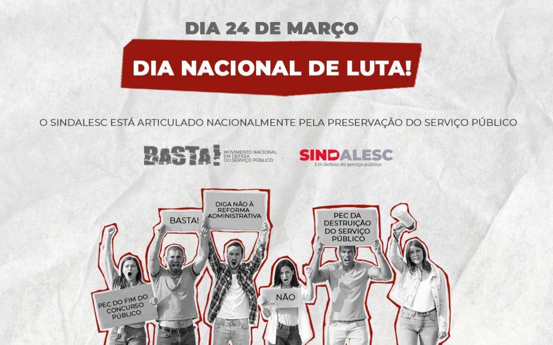 DIA NACIONAL DE LUTA!
