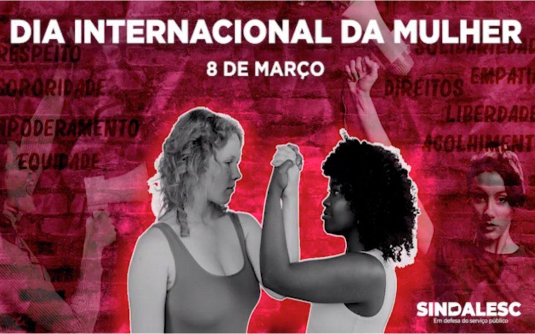 Mês da mulher: Sindalesc lança série de vídeos durante o mês de março