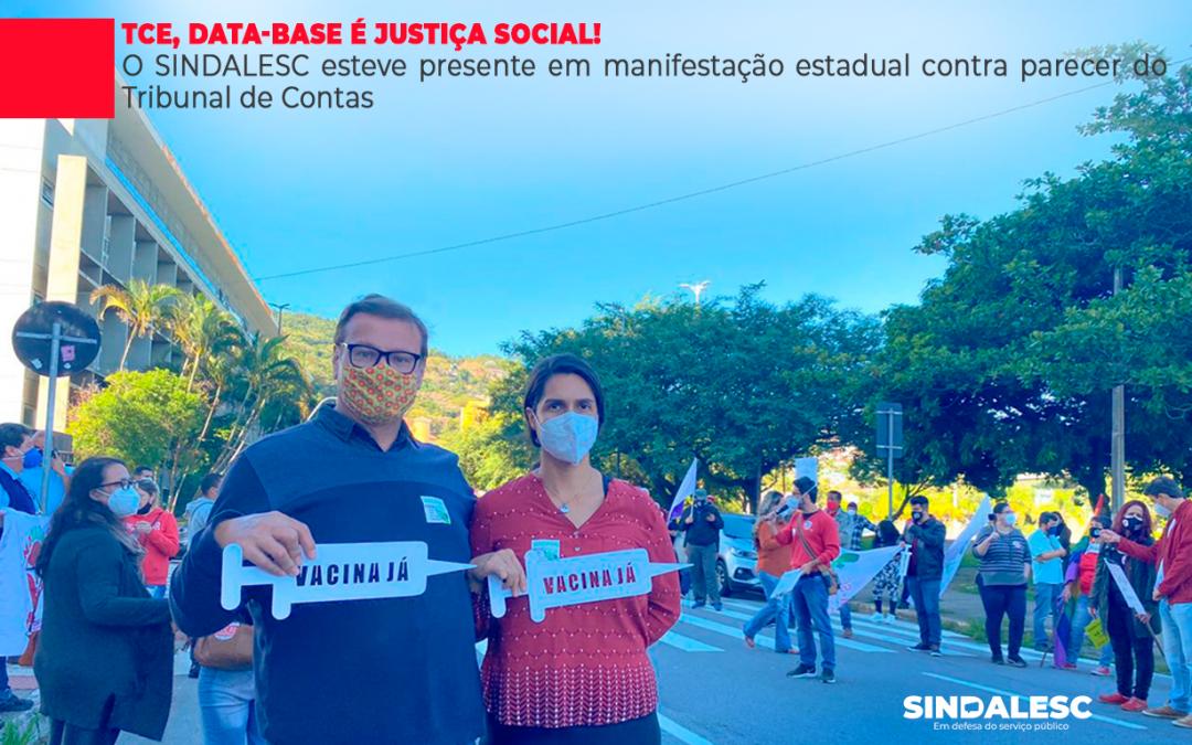 TCE, Data-base é justiça social!