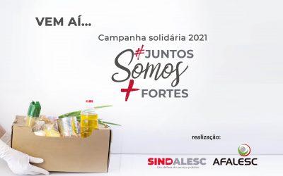 Campanha solidária Juntos somos mais fortes 2021