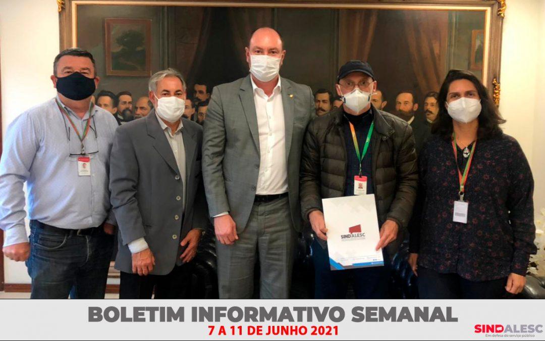 Boletim Informativo Semanal (07 a 11/06)