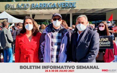 Boletim Informativo Semanal (26 a 30/07)