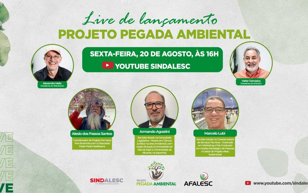 Live de Lançamento Projeto Pegada Ambiental – Participe!