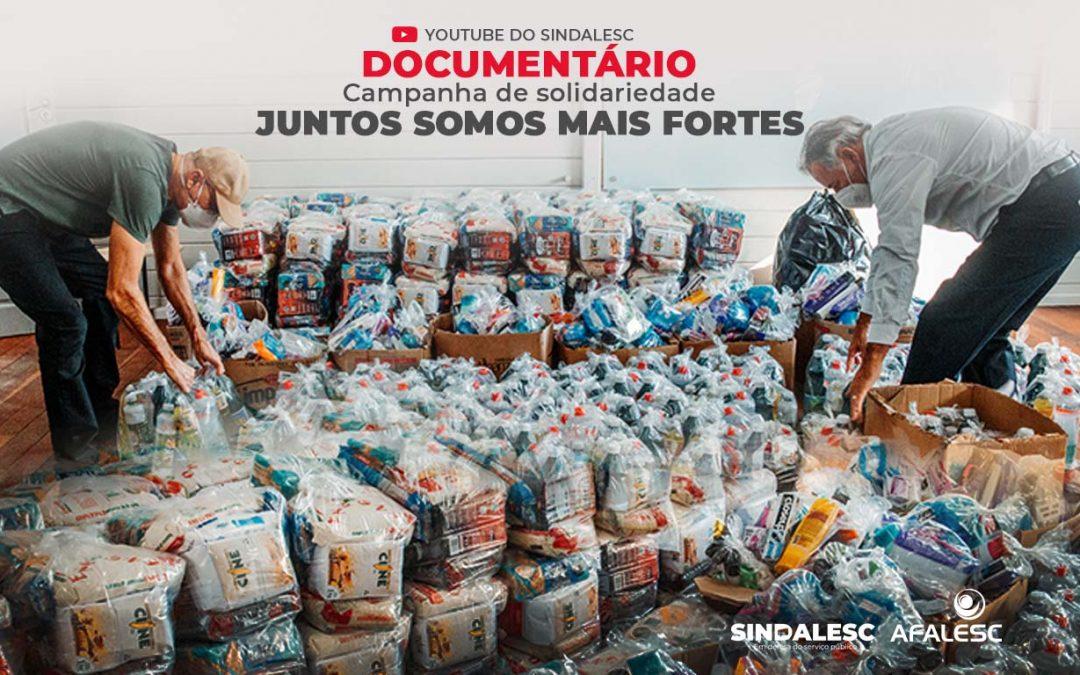SINDALESC e AFALESC lançam documentário no Youtube