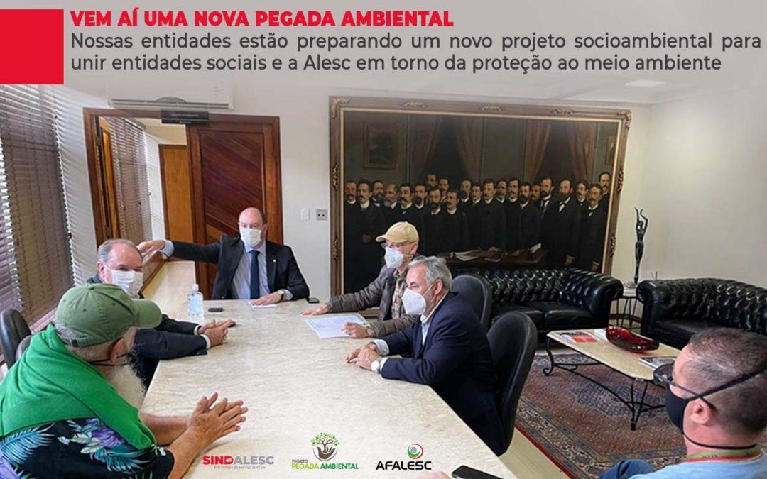 SINDALESC E AFALESC estão preparando um novo projeto socioambiental para unir entidades sociais e a Alesc em torno da proteção ao meio ambiente