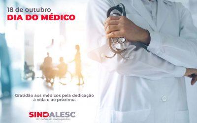 Dia do Médico – 18 de outubro
